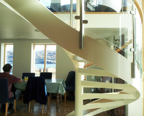 Spiral Staircase Ullapool Scotland 4