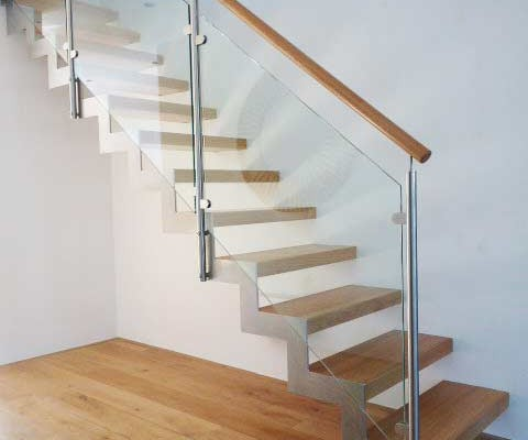 how to build your own steel framed staircase