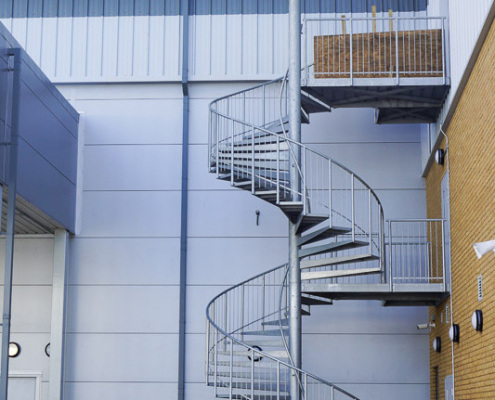 Commercial Spiral Staircase - Enfield