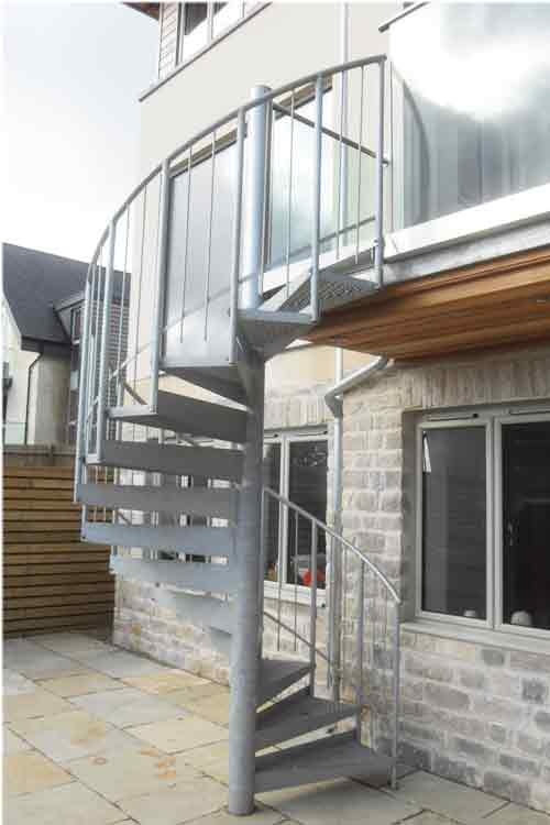Spiral Staircases In Bespoke Kit Form View Case Studies Pictures
