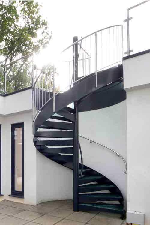 Spiral Staircases In Bespoke Kit Form View Case