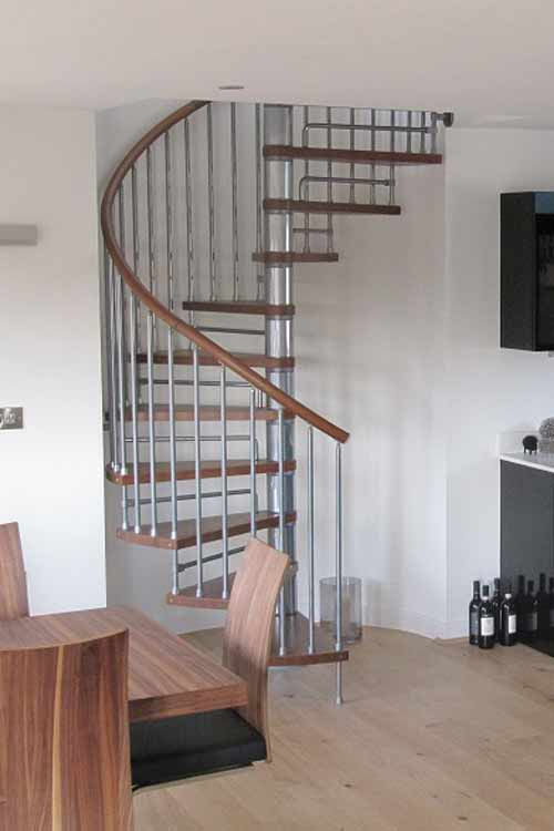 spiral staircases in bespoke kit form view case studies