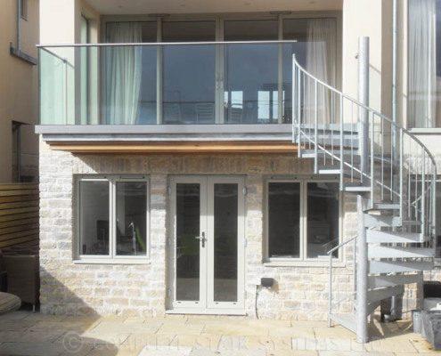 Spiral Staircase Bath