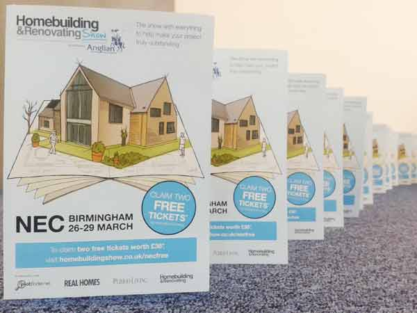 Homebuilding & Renovating show 2015