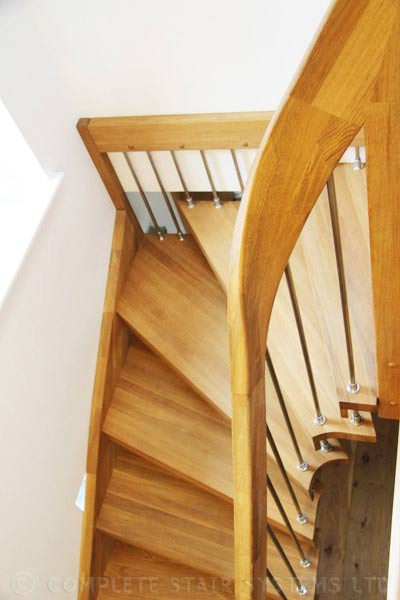 Open Staircase Cornwall Spiral Staircases