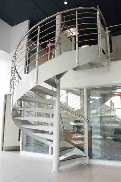 Commercial Spiral Staircases For Offices And Shops