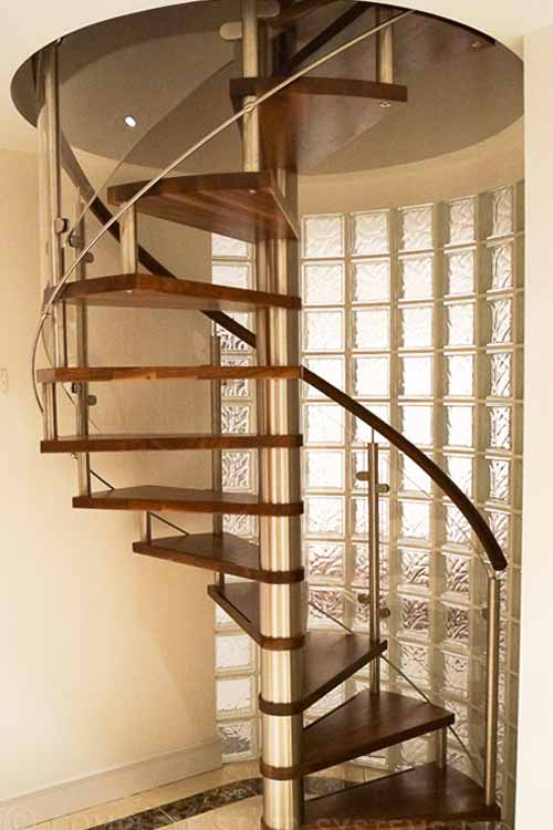 Walnut Spiral Staircase Spiral Staircases And Staircases