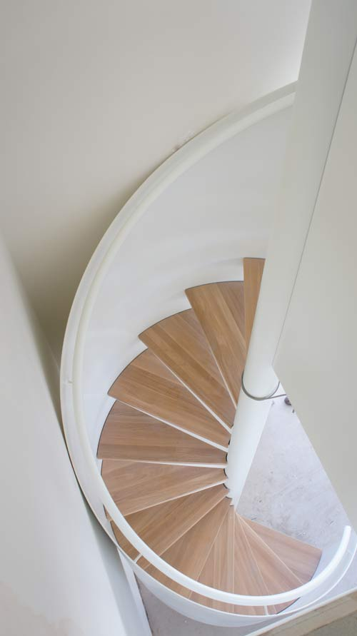 Spiral Staircase Petersfield Stunning Curved Steel Plate