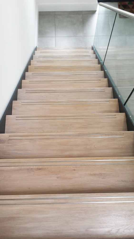 Bespoke Staircase Rickmansworth With Oak Treads With