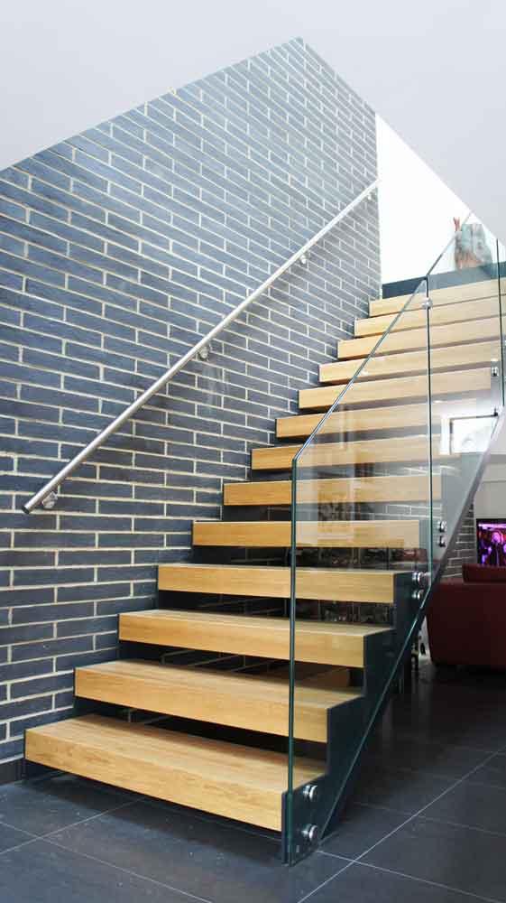 Modern Staircase Stamford Oak Stair In Straight Flight