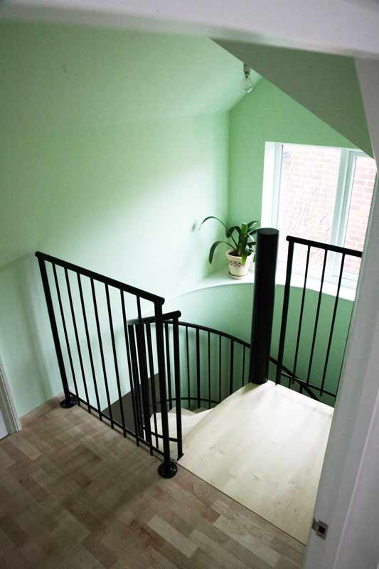 Spiral Staircase Oxford Was A Double Flight Project With