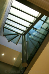 Loft Conversion Glass treads