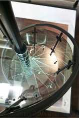 Acrylic spiral staircase in Bromley