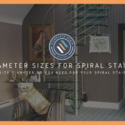 Spiral staircase dimensions post cover image