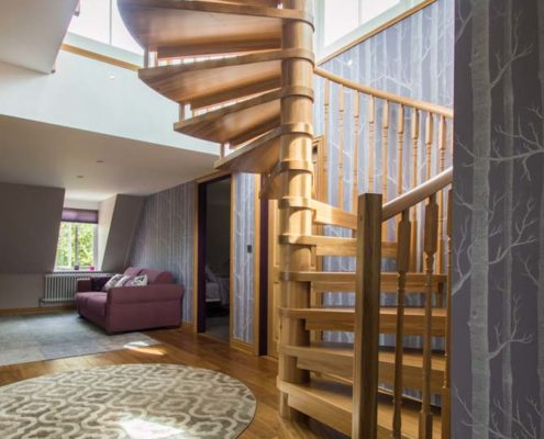 Cost of a new staircase guide - Model 71 spiral staircase in Tilford
