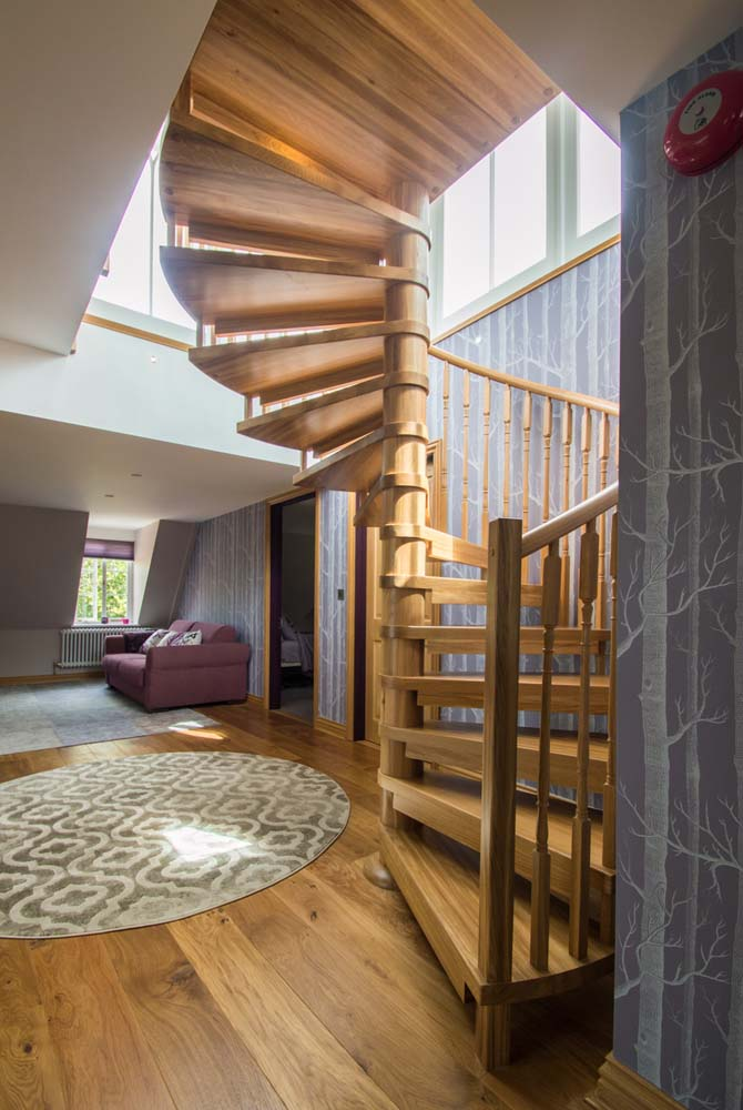 A Model 71 spiral staircase in Tilford