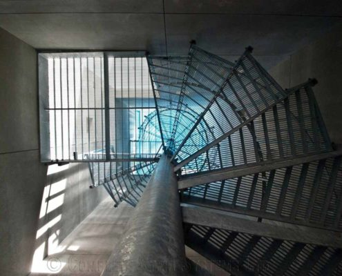 Steel spiral staircase runner up photo 2013