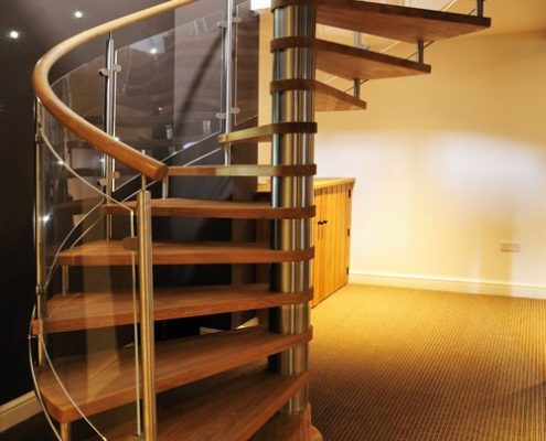 Timber staircase winning photo in 2013
