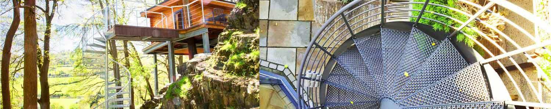 External Spiral Stair
