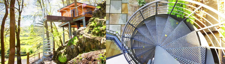 External-Spiral-Staircase