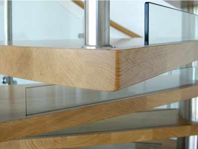 Glass Upstands