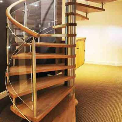 Spiral Stair Project-Nottingham