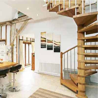 Spiral Stair Project-Romsey