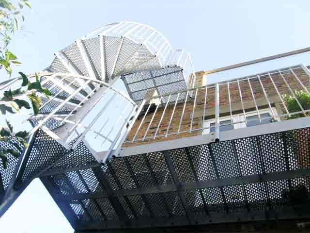 External Spiral Staircase