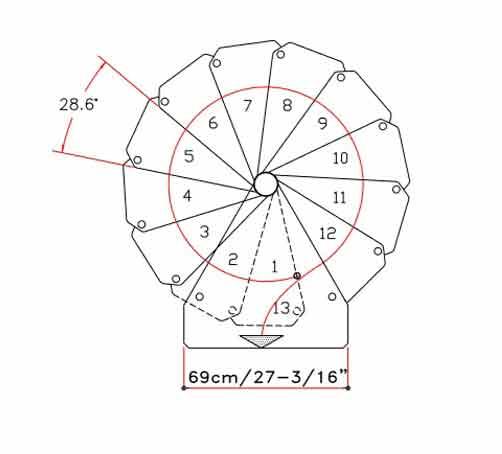 Klio Spiral Stair plan