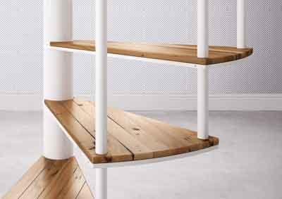 Slim Spiral Staircase