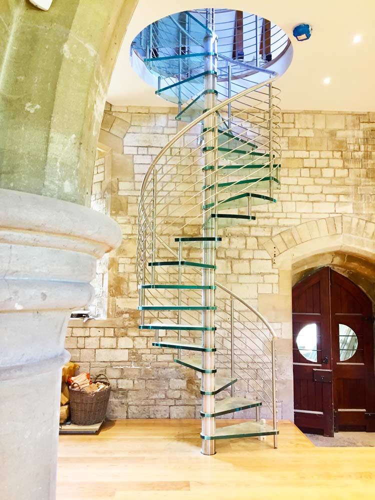 Spiral-Staircase-Wells