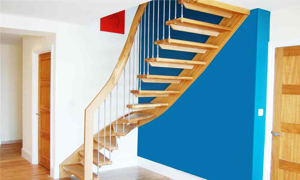 Floating Timber Stair