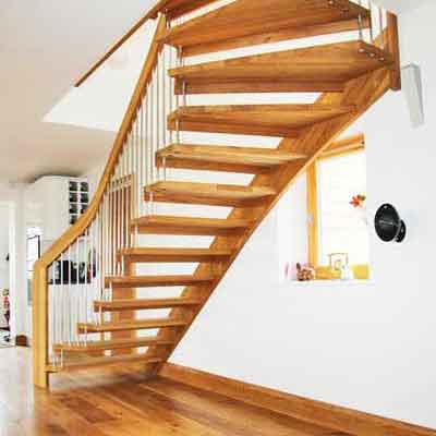 Floating Stair Bude