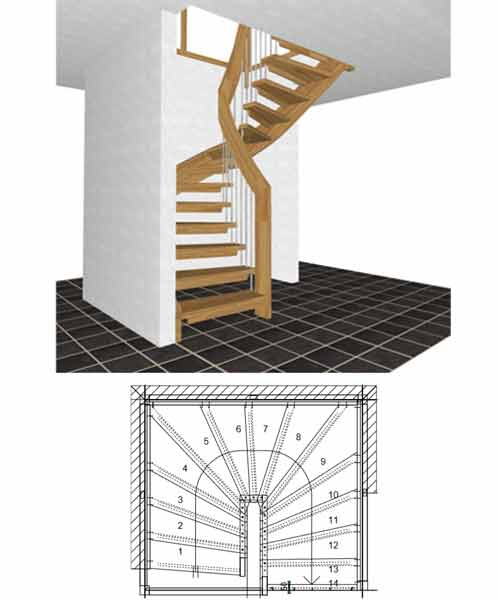 Floating-Staircase-Half-Turn